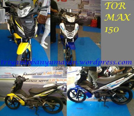tvs tormax 150