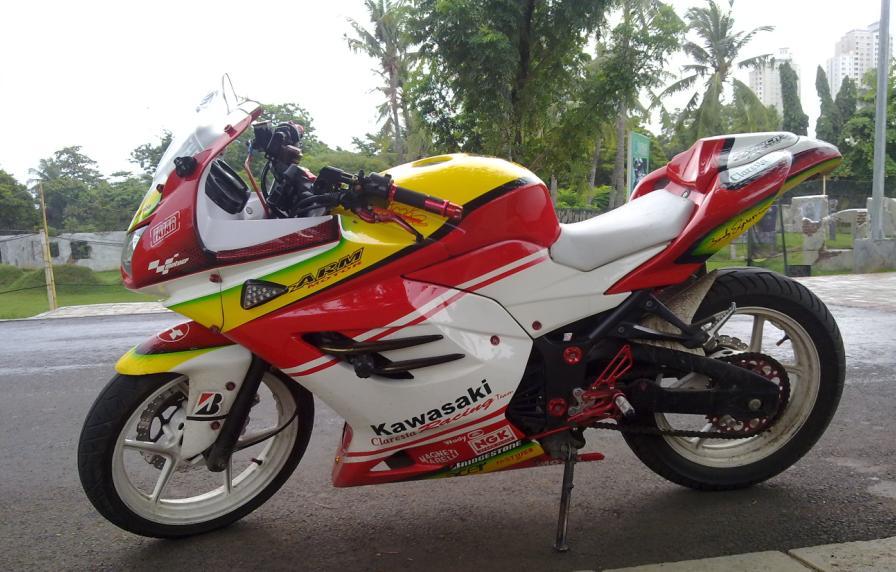 foto gambar modifikasi motor kawasaki ninja 250 z 150 cc 250 rr   autos weblog
