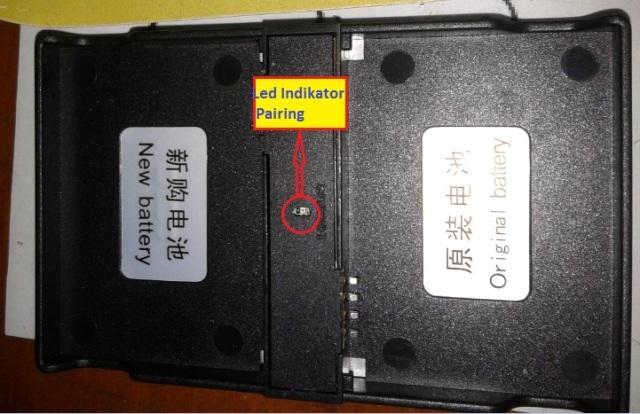 Alat dekstop untuk pairing Baterai BB Torch