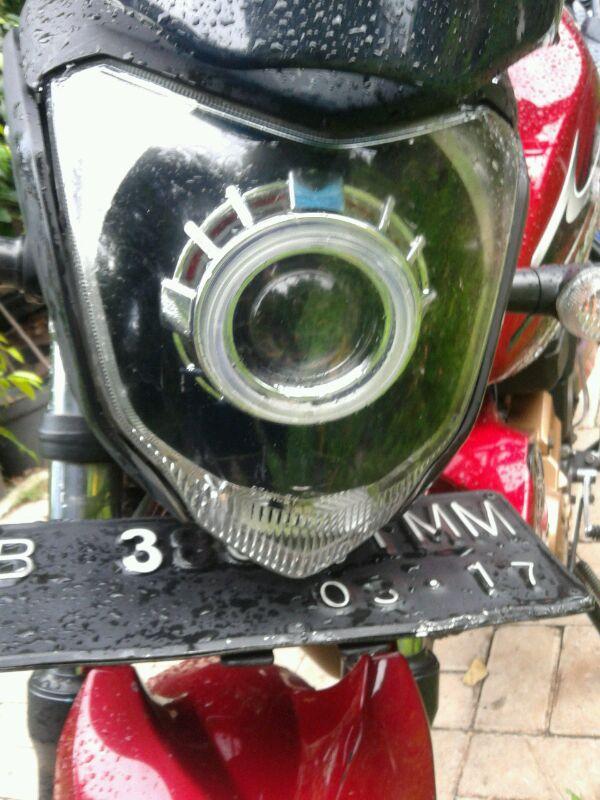 Yamaha Byson mengadopsi lampu Projektor