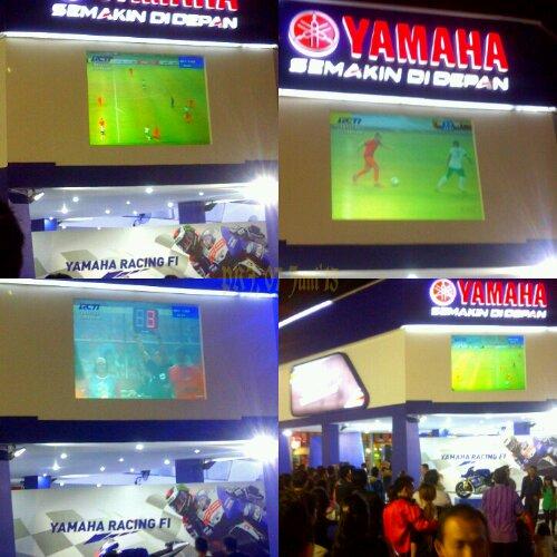 Indonesia Belanda 0-3, di PRJ 2013