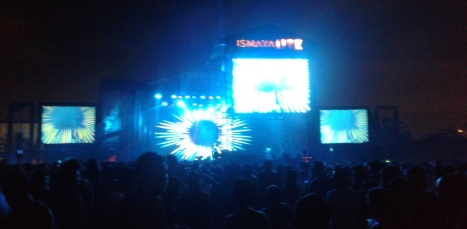 david guetta perform at ecopark ancol