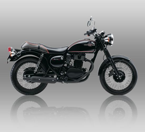 Kawasaki Estrella, retro modern