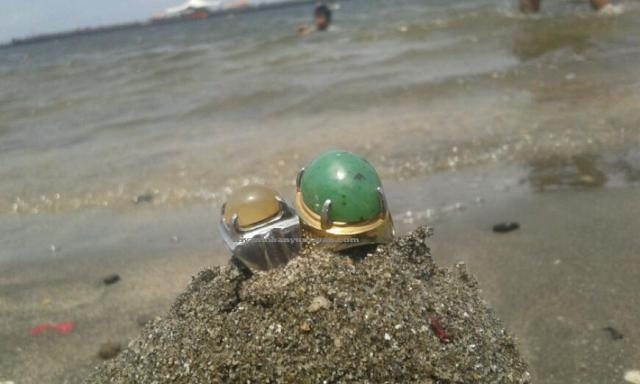 batu cincin giok solar dan giok super Aceh