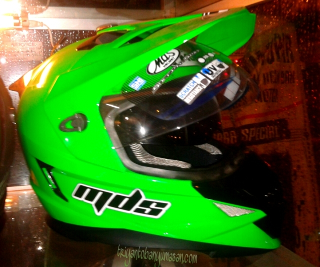 helm MDS supermotot double visor