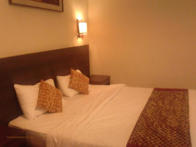 kamar tidur sariater resort dan hotel