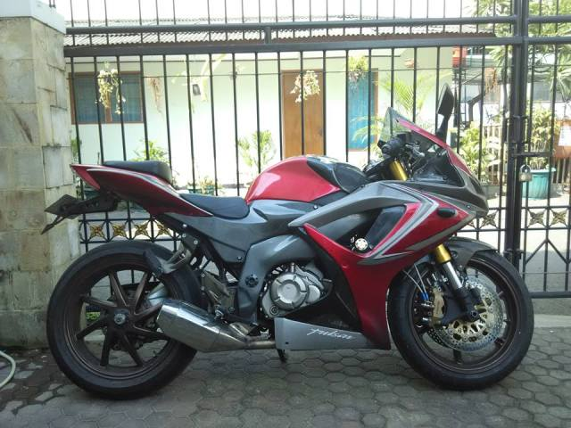 modifikasi Pulsar 200 NS pro arm