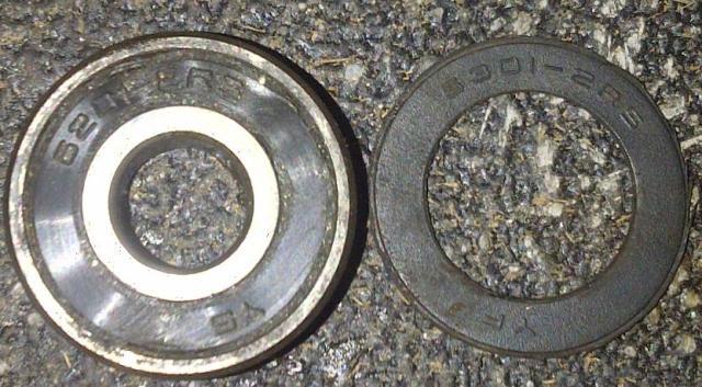 Cek kode bearing