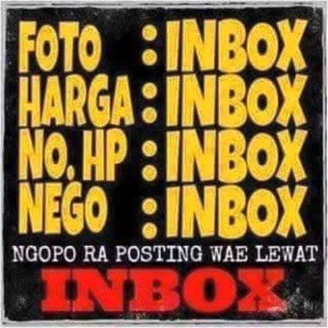 jualan inbox