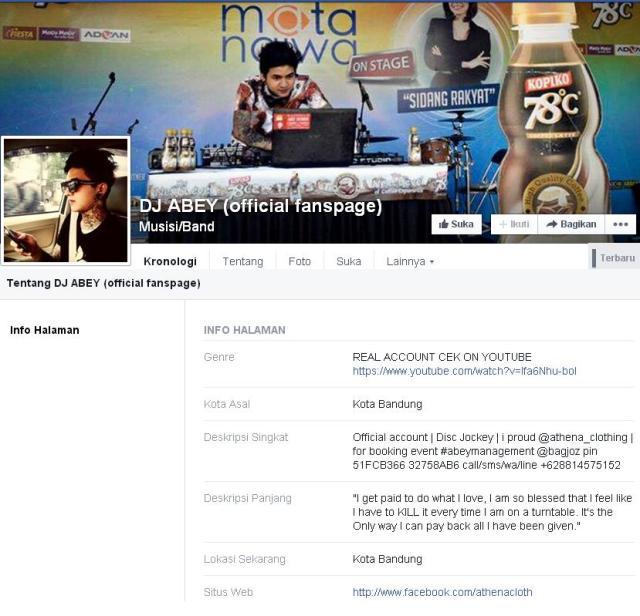 dj nico fanpage Facebook