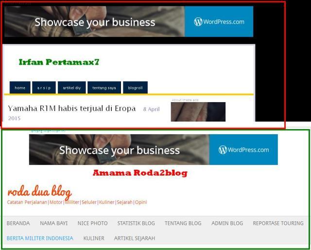 Iklan WordPress Adsense