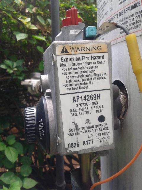 control water hitter rheem_ap14269h
