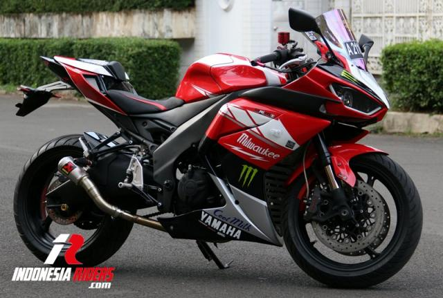 modifikasi r25 up side down r6
