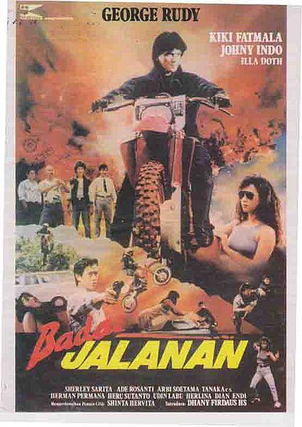 poster film badai jalanan 1989