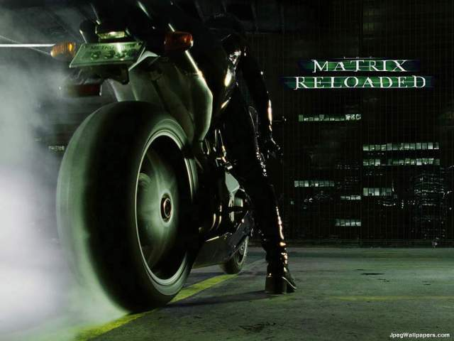 Ducati Motorcycle in The Matrix Reloaded 2003