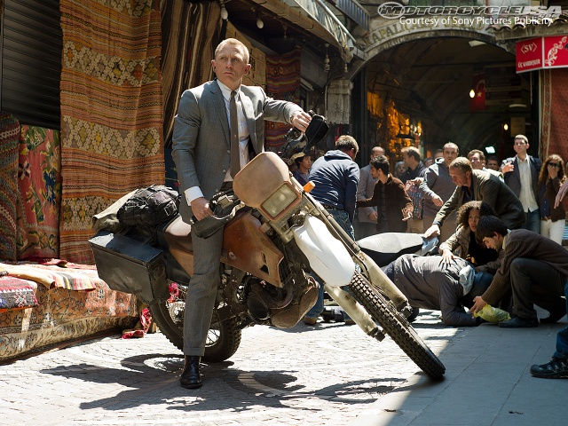Honda CRF 250R in skyfall