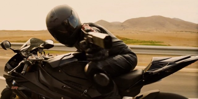 Mission Impossible - Rogue Nation Official Trailer motorcycle