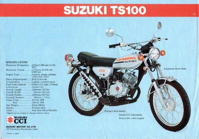 Suzuki TS series
