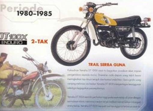 Yamaha DT series
