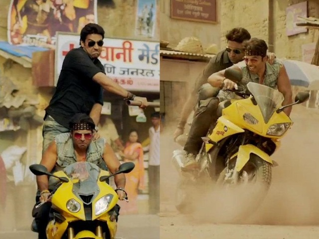 BMW S1000RR in Dhoom:3