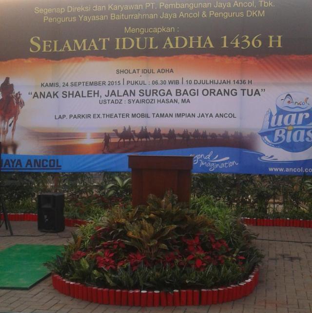 Idul Adha 1436 H Ancol