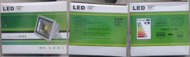 LED sederhana dan mudah pemasangannya untuk taman