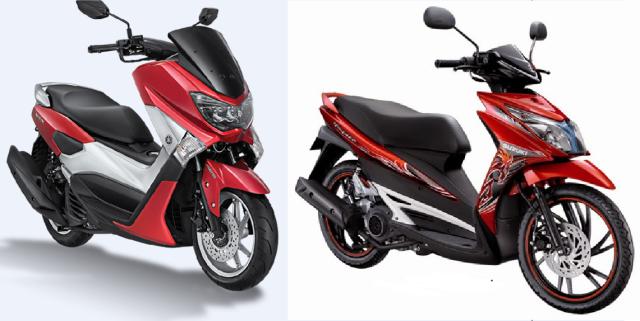 kalo membandingkan N-Max dan Suzuki hayate, Kejauhan ya?