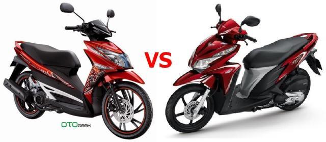 Suzuki hayate versus Vario 125, sesama 125 cc