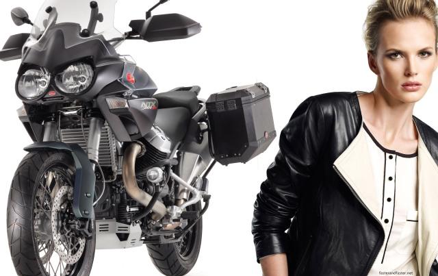 ini produk modern nya, enduro bike layaknya BMW GS atau Versys