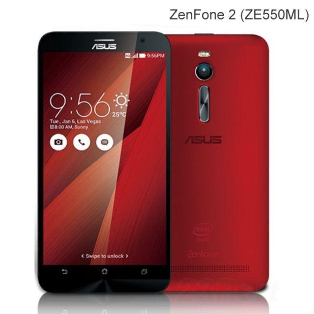 Harga Asus Zenfone 2 ZE550ML terbaru oktober 2015, Rp 2.688.000 (putih) dan Rp 2.690.000 (merah)
