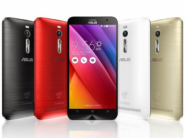 Harga Asus Zenfone 2 ZE551ML terbaru oktober 2015 mulai dari 2.816.000 sampai 4.150.000
