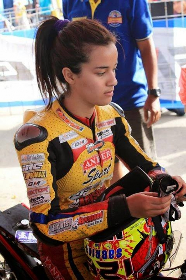 Pembalap Cantik Sabrina Sameh Triyanto Banyumasan Blog S