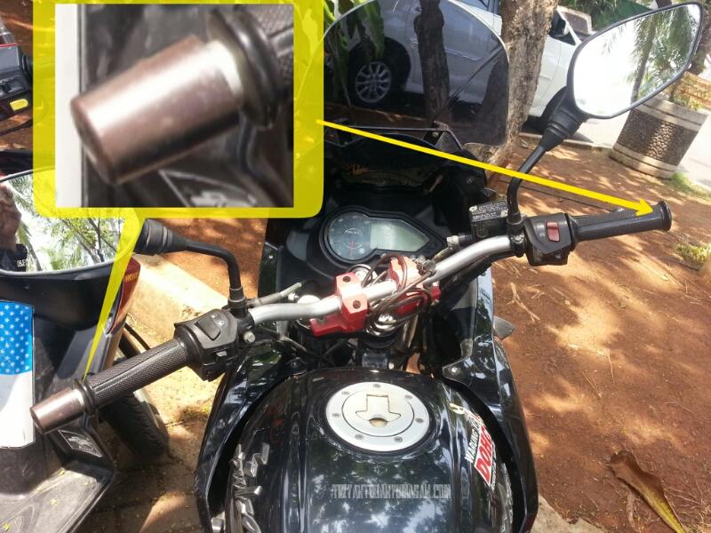 Pasang Handguard/Proguard dan Jalu Setang Sepeda Motor