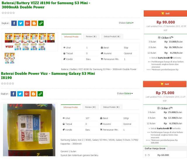 harga-bateray-double-power-galaxy-s3-mini-3000mah