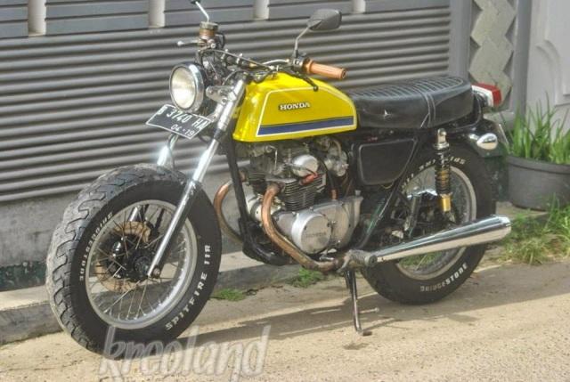 Honda CB175 twin, langka