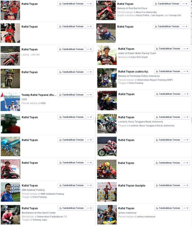 akun rafis topan di facebook