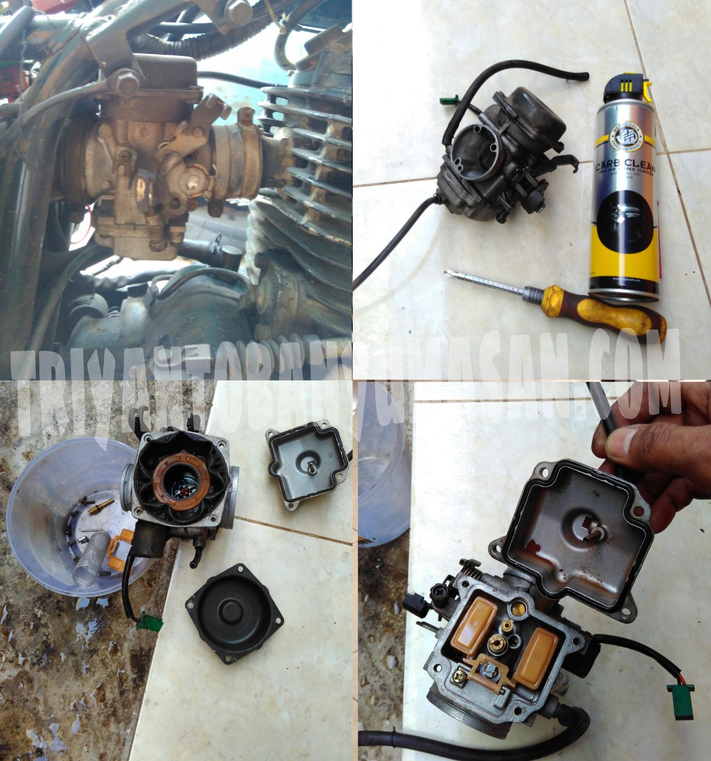 Mengatasi Mesin Pulsar Mbrebet Servis Karburator Diy Triyanto